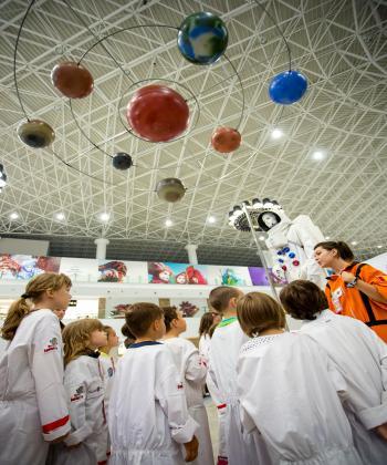 La Palas Mall, copiii pot experimenta prima lor călătorie în spațiu