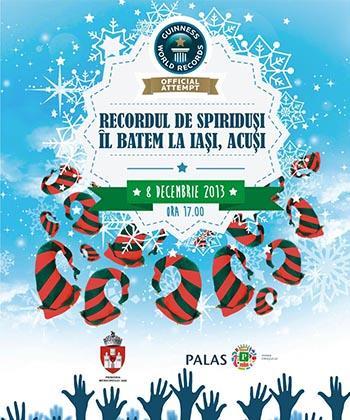Duminică, la Palas Mall Iași se încearcă doborârea recordului pentru cea mai mare adunare de spiriduși din lume