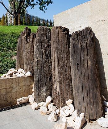 Palas valorifică vestigiile arheologice scoase la lumină în gospodăria vechii Curţi Domnești