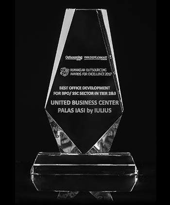 Compania Iulius a primit premiul pentru cea mai bună dezvoltare de birouri destinate companiilor din industria de outsourcing
