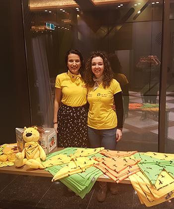 """UBC Timișoara a susținut campania """"Zilele Bandanei - solidaritate fata de persoanele afectate de cancer"""""""