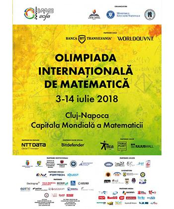Iulius Mall Cluj Napoca a susținut Olimpiada Internațională de Matematică, ediția 2018
