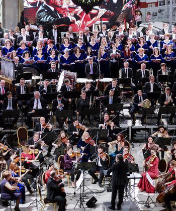 """Concert de Anul Nou al Filarmonicii """"Moldova"""" Iași, la Palas"""