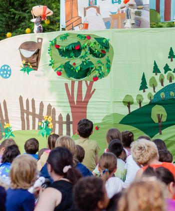 Jocurile copilăriei, teatru de păpuși și proiecții de animații, la Kiddy Festival, în Iulius Parc
