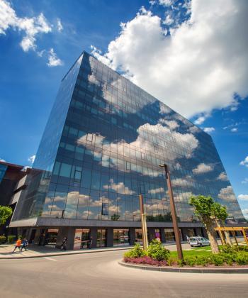 United Business Center 2 din ansamblul Openville, singura clădire de birouri din Timişoara certificată LEED®