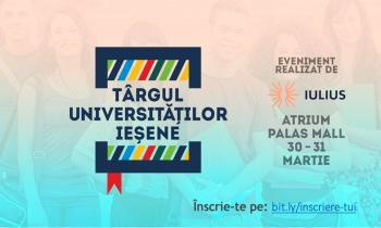 Târgul Universităților Ieșene - Viitorul tău educațional din Iași, într-un singur loc