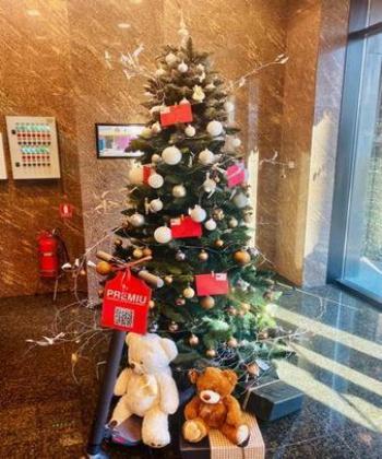 Peste 400 de scrisori și tot atâtea dorințe împlinite de angajații din clădirile de birouri United Business Center Palas