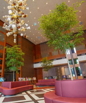"""""""Parcul"""" din lobby – concept inedit, în Iulius Town Timișoara"""