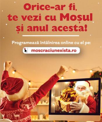 Moș Crăciun există! Orice-ar fi, IULIUS te ajută să te vezi cu el și anul acesta!