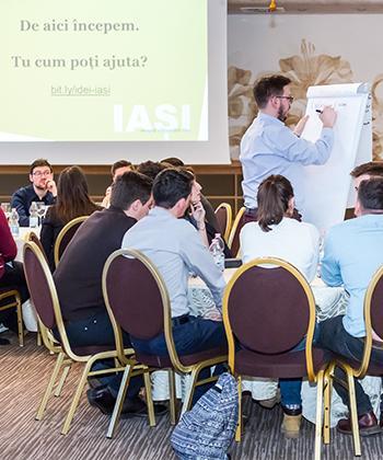33 de asociații studentești se implică în dezvoltarea unui program de promovare a oportunităților Iașului