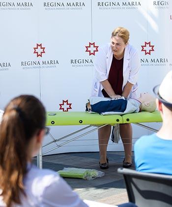 175 de angajați din UBC au participat la cursuri de prim ajutor organizate de Palas, în parteneriat cu rețeaua de sănătate Regina Maria