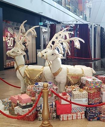 Campania shoebox, la Iulius Mall. O campanie prin care, de sărbători, sunt dăruite cadouri copiilor nevoiași!